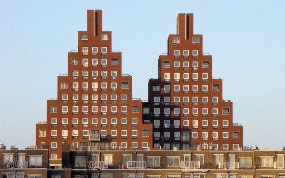Le curiose architetture di Amsterdam