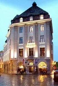 Hotels a Tallinn, Estonia: Barons hotel all'esterno.