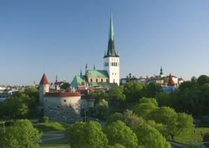 Chiesa di St. Olav, Tallinn Estonia (foto di Jaak Kadak)
