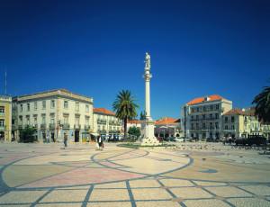 Main square in Setubal @Jose Manuel