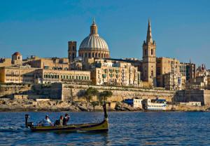 Malta---Valletta-from-Marsamxett-Harbour-01-by-Clive-Vella-malta