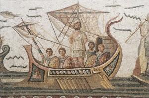 Bardo Mosaique Ulysse-tunisi-tunisia