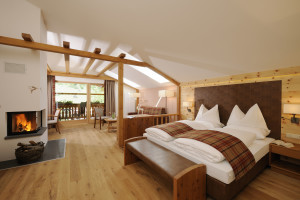 Suite all'hotel Bad Moos in Alta Pusteria: benessere ad alta quota