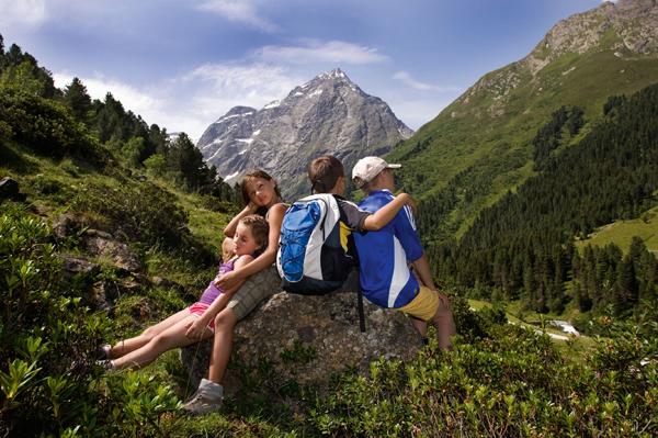 Visitare Innsbruck e dintorni con bambini: panorama di montagna