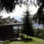 Capanna in un sentiero nei dintorni di Innsbruck: settimana dei cervi in amore