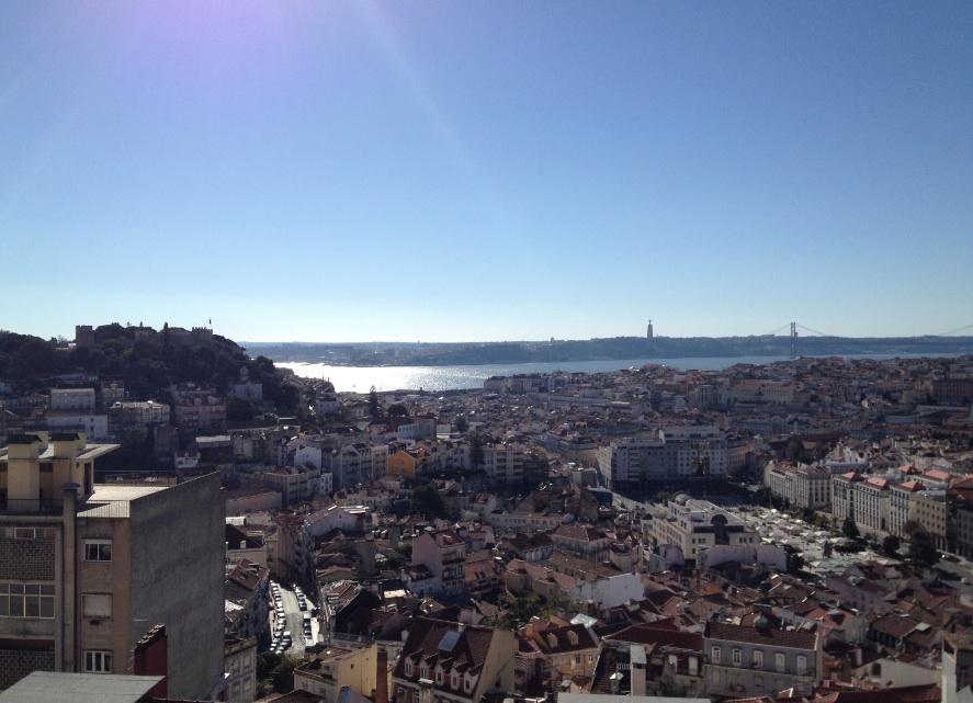 Lisbona-Miradouro-Nossa Senhora do Monte