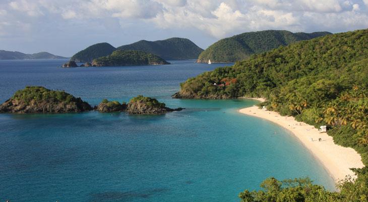 Via dalla pazza folla st john isole vergini americane for Isola di saint honore caraibi