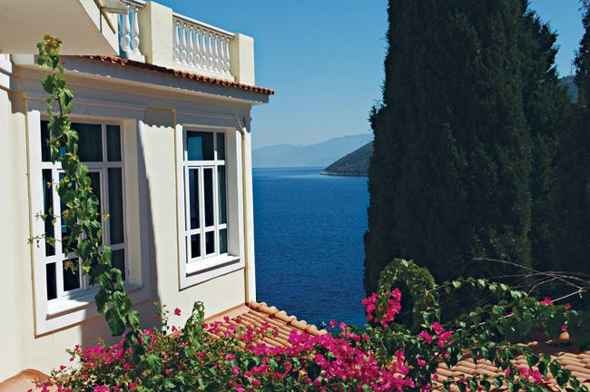 Scorcio del Kerveli Village Hotel, Samos