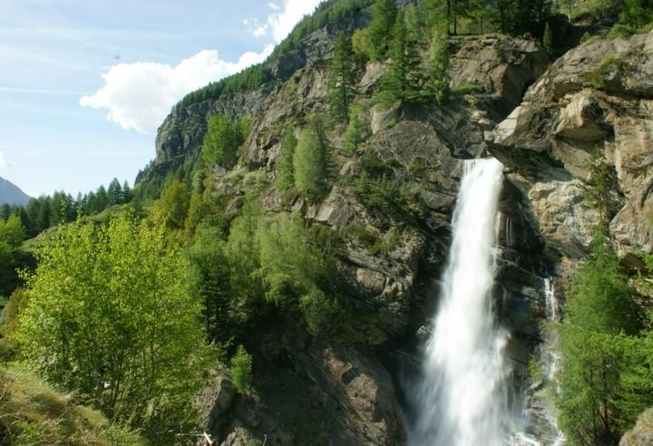 Cosa fare a Cogne - Lilaz cascata