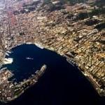 Stretto di Messina, la forma di una falce