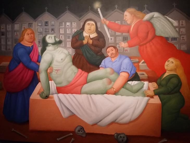 botero a roma via crucis la passione di cristo