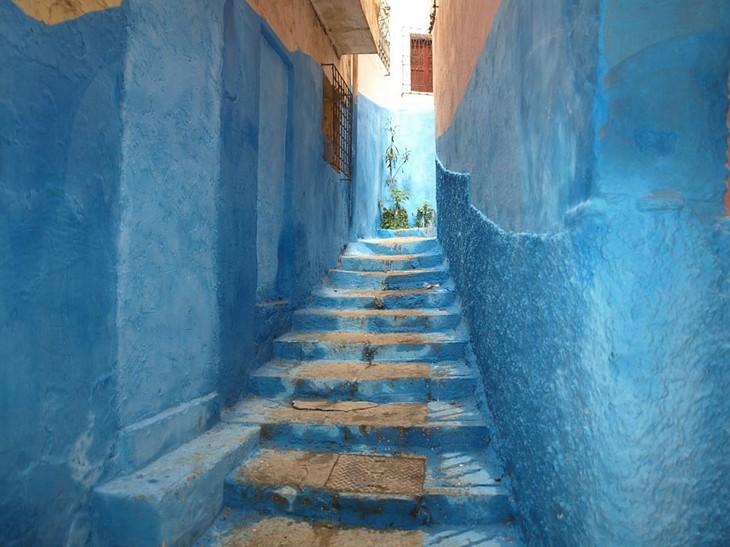 Visitare Tangeri città blu