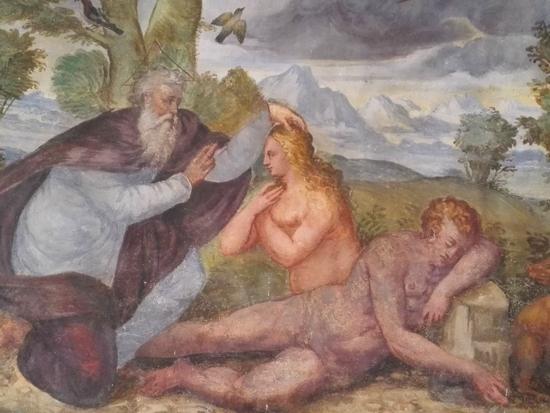 Gli affreschi di Francesco da Milano - ph Elena Bianco