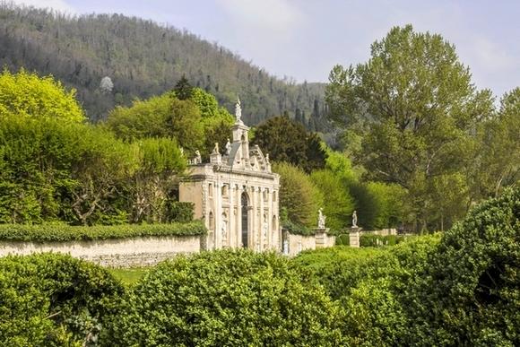 Ingresso del giardino di Valsanzibio