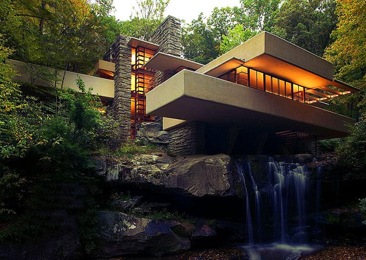 Attraverso gli stati uniti alla scoperta di frank for Wright la casa sulla cascata