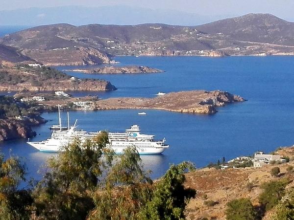 Le coste frastagliate di Patmos