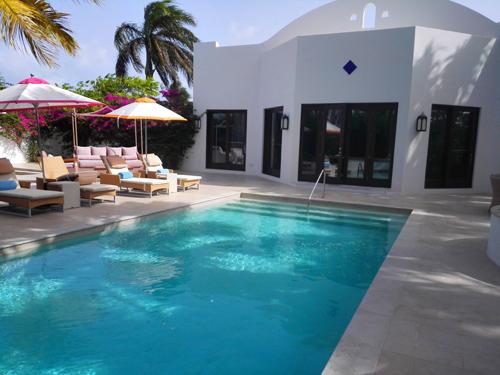 Una delle ville nel Cuisinart Golf Resort, Rendezvous Bay, Anguilla. Foto di Elena Bianco