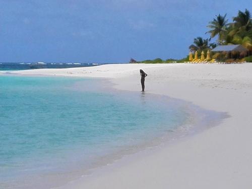 Il mare di Shohal Bay, Anguilla. Foto di Elena Bianco