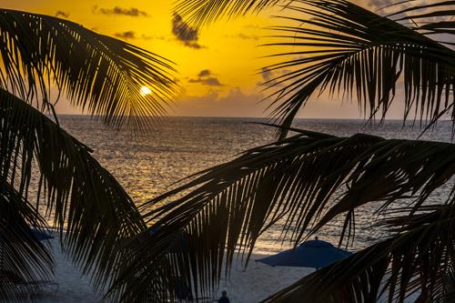Tramonto ad Anguilla. Foto di Elena Bianco