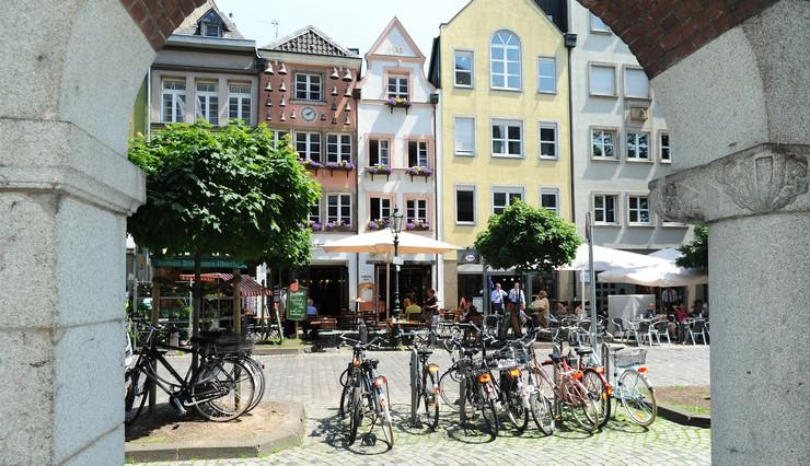 Visitare Dusseldorf città vecchia