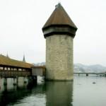 Visitare Lucerna: la torre sul Reiss