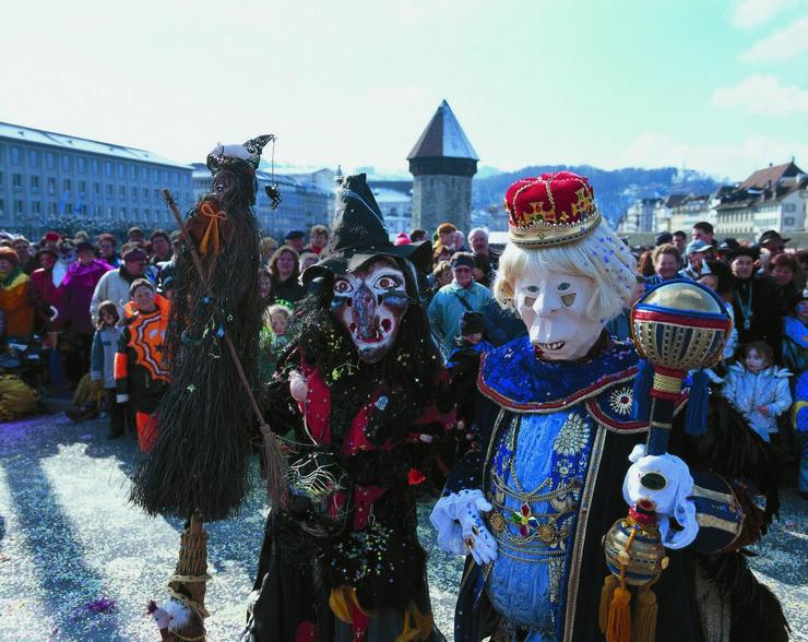 Cosa vedere a Lucerna in febbraio: il Carnevale, ovvio!