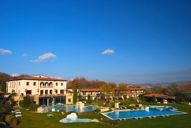 Romantico hotel adler thermae di bagno vignoni - Adler bagno vignoni ...