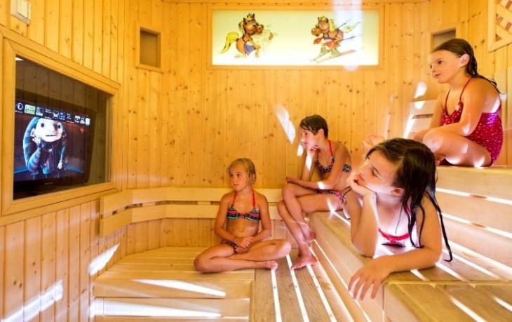spa per bambini all'Hotel per famiglie più bello dell'alto Alto Adige