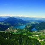 Cosa fare a Levico Terme e dintorni: laghi dall'alto