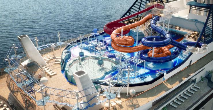 MSC Meraviglia, Aqua Park