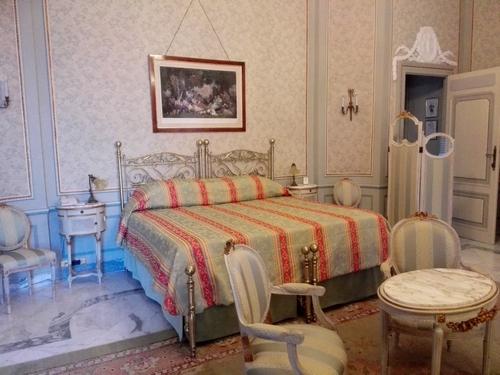 La Suite Caruso del Grand Hotel Excelsior Vittoria. Foto di Elena Bianco