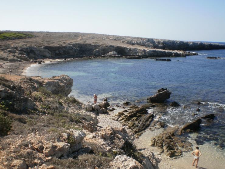le più belle spiagge di Favignana: Cala Rotonda