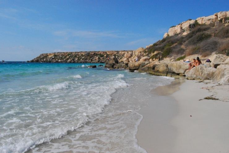 le più belle spiagge di Favignana: cala Azzurra