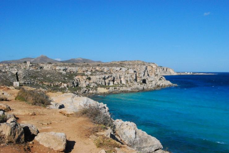 le più belle spiagge di Favignana: Cala Rossa