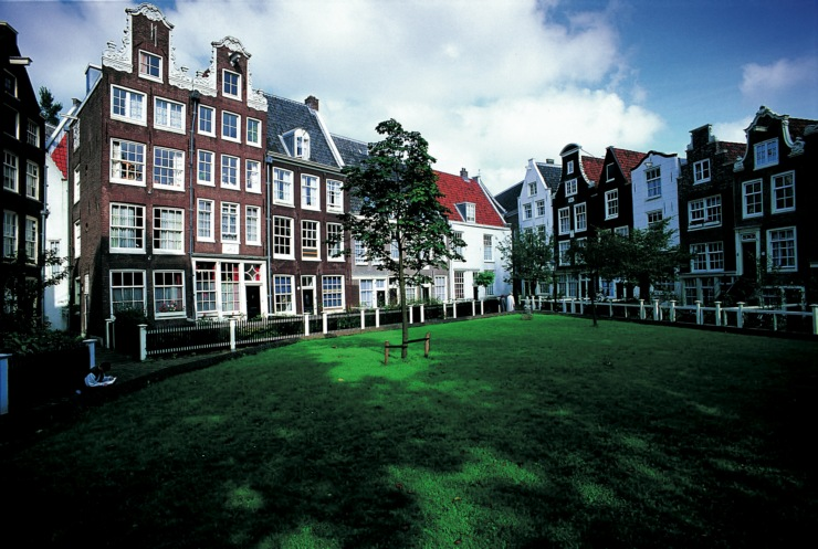 Viaggio ad Amsterdam: il cortile delle Beghine