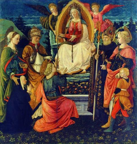 3_Filippo Lippi Fra Diamante La Madonna della Cintola a S.Tommaso 1456 1465 Prato Museo di PalazzoPretorio