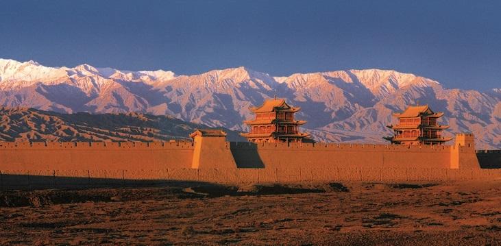 Cosa fare in Gansu: muraglia cinese - fortezza militare di Jiayuguan
