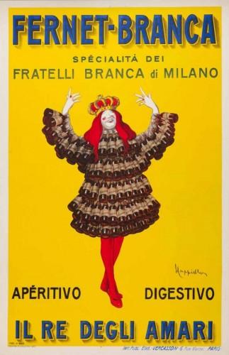 Fernet-Branca-Cappiello-1910 GALLERIA L'IMAGE DI ALASSIO