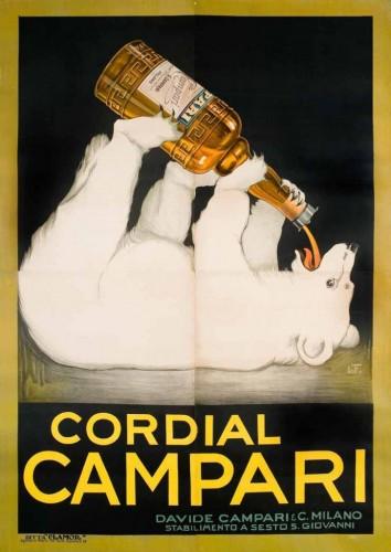 Franz Laskoff, Cordial Campari, 1921 GALLERIA L'IMAGE ALASSIO