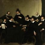 Jacob Backer (160809-1651),The governors of the Nieuwezijds Huiszittenhuis in Amsterdam.