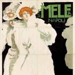 Marcello Dudovich, Mele Ultime novit+á Eleganza Buon gusto, 1907 GALLERIA L'IMAGE ALASSIO