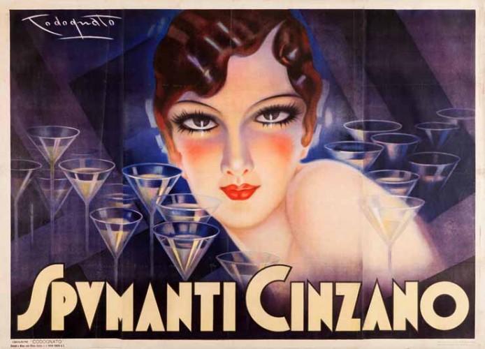Plinio Codognato, Cinzano-Spumanti, 1933 GALLERIA L'IMAGE ALASSIO