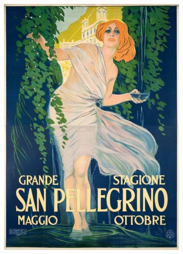 San Pellegrino, 1921 GALLERIA L'IMAGE ALASSIO