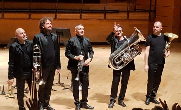 Il Gomalan Brass in scena al Teatro dal Verme, con un ampio repertorio, dal rinascimento al melodramma e alla musica contemporanea, per giungere alla musica da film.
