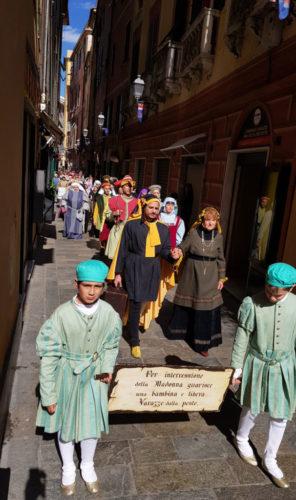 A Varazze in corteo le Sacre rappresentazioni