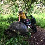 Cinque isole visitate in sette giorni! Un vero record se pensate che mi sposto su una sedia a rotelle!