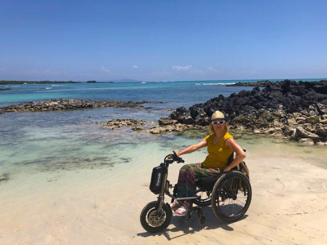Purtroppo devo ammettere che alle Galapagos non c'è quasi nulla di accessibile... Ma il bello di queste isole è proprio il fatto che siano ancora intatte e non costruite.