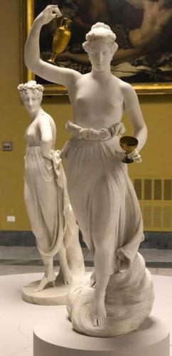 """Canova voleva """"far rinascere l'Antico nel Moderno e plasmare il Moderno attraverso il filtro dell'Antico""""."""
