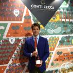 Cantina Conti Zecca ha presentato al VINITALY di VERONA il restyling della linea dei Vini del Territorio