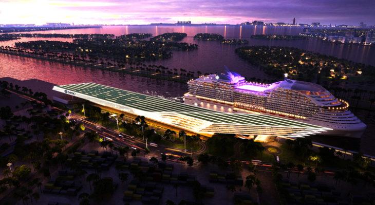 Il nuovo terminal sarà in grado di accogliere contemporaneamente 2 navi MSC e offrirà ai crocieristi il più elevato livello di esperienza sia nelle fasi di imbarco che in quelle di sbarco